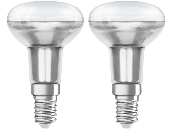 "2er-Pack OSRAM LED-Lampe ""Star"" R50, 3,3 W, E14"