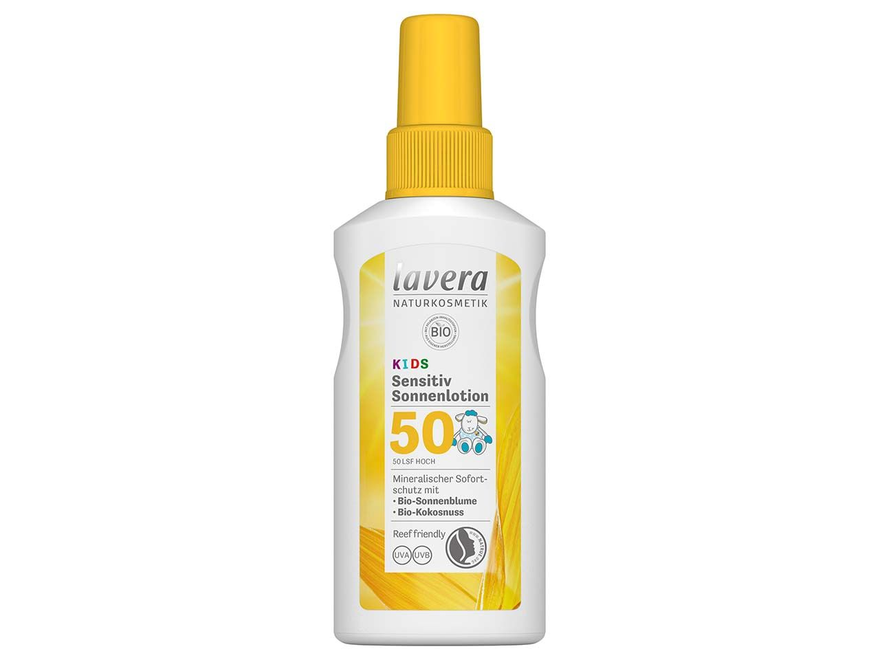 """lavera Sonnencreme """"Sensitiv"""" Kids LSF 50, 100 ml 110608"""