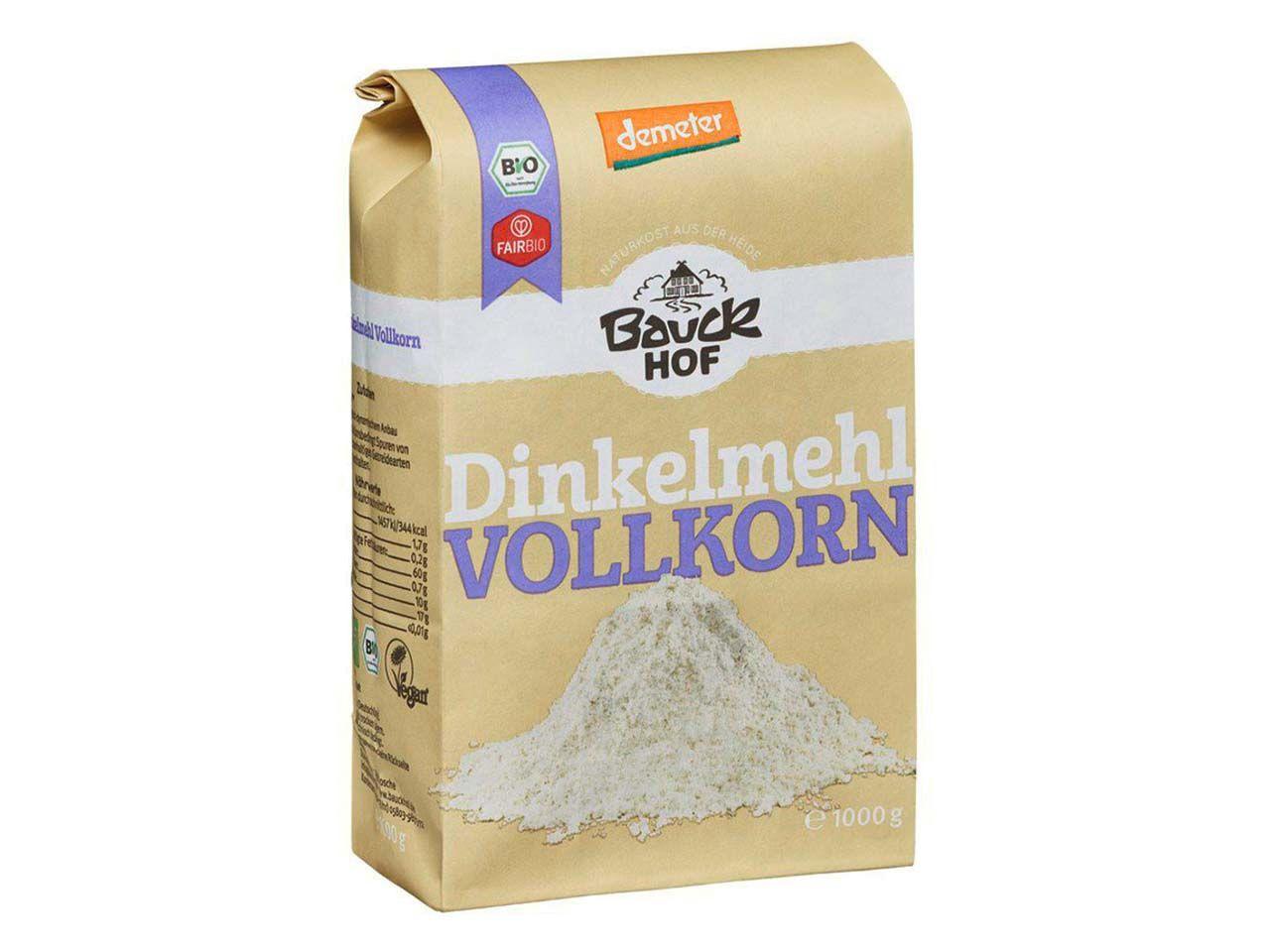 Bauckhof Bio-Vollkorn-Dinkelmehl 1 kg 118250441