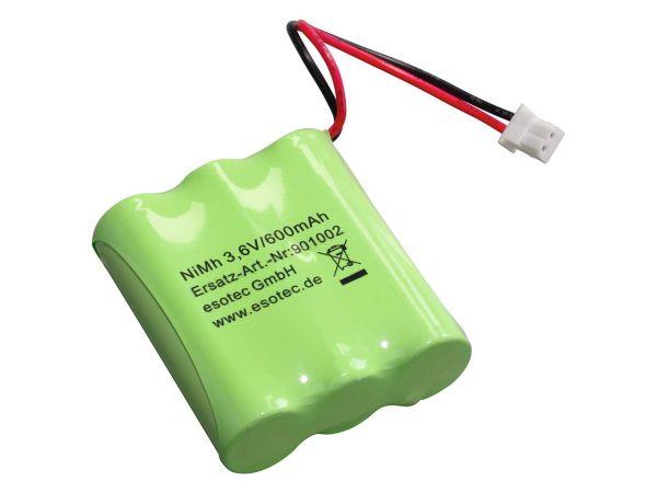NiMh Akku für Solar-Leuchtkugel mit 7-farbigem Wechsellicht 3,6 V, 600 mAh