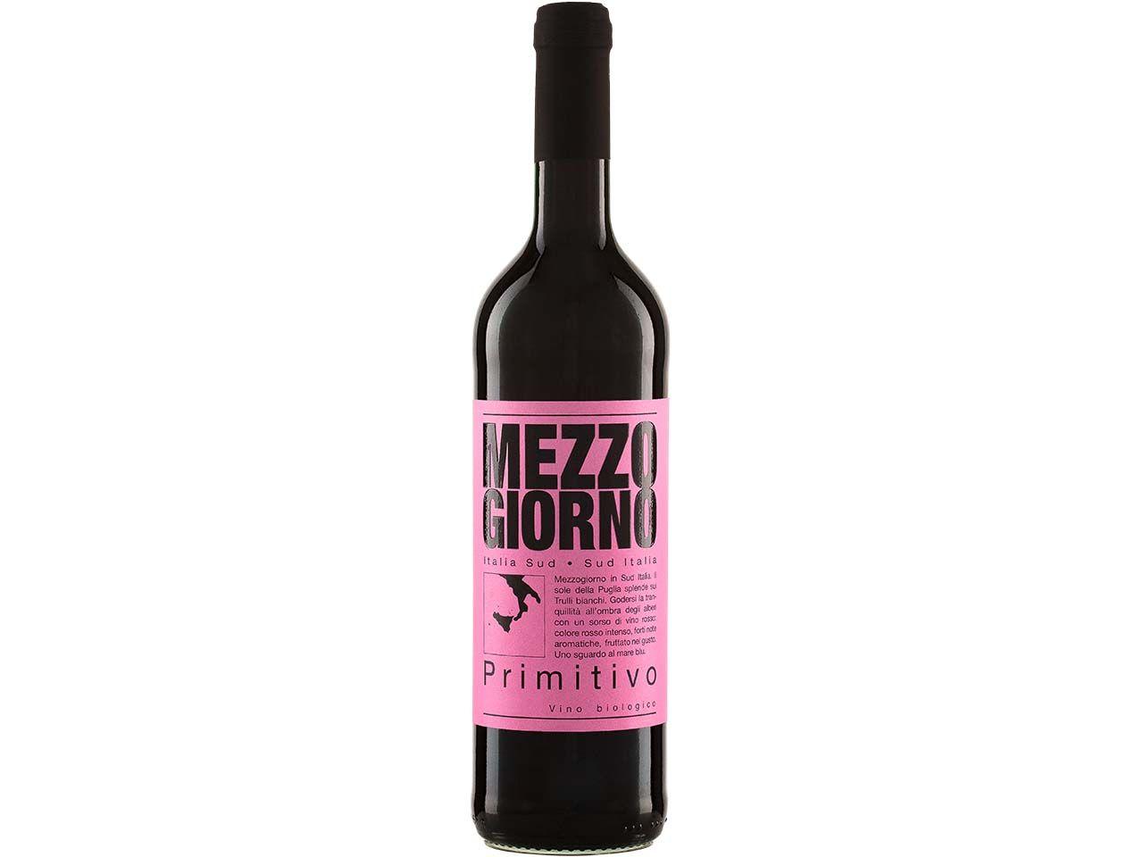 Bio-Rotwein Primitivo