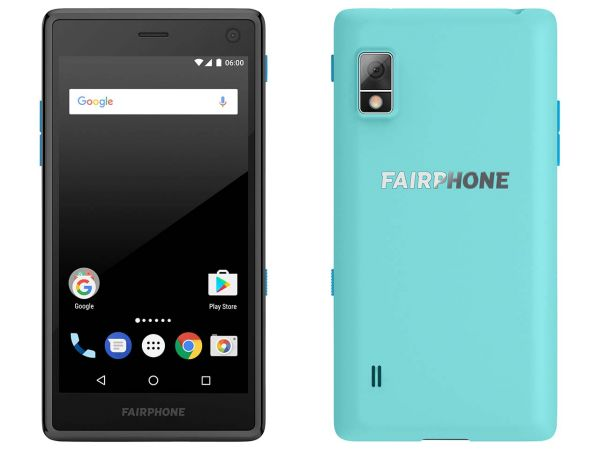 "Smartphone ""Fairphone 2"" türkis"