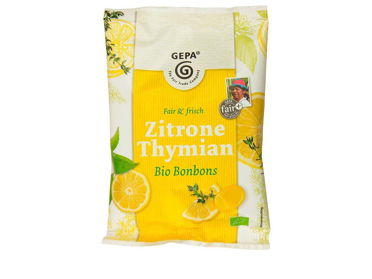 """GEPA Bio-Bonbons """"Zitrone Thymian"""" 100 g 8911761"""