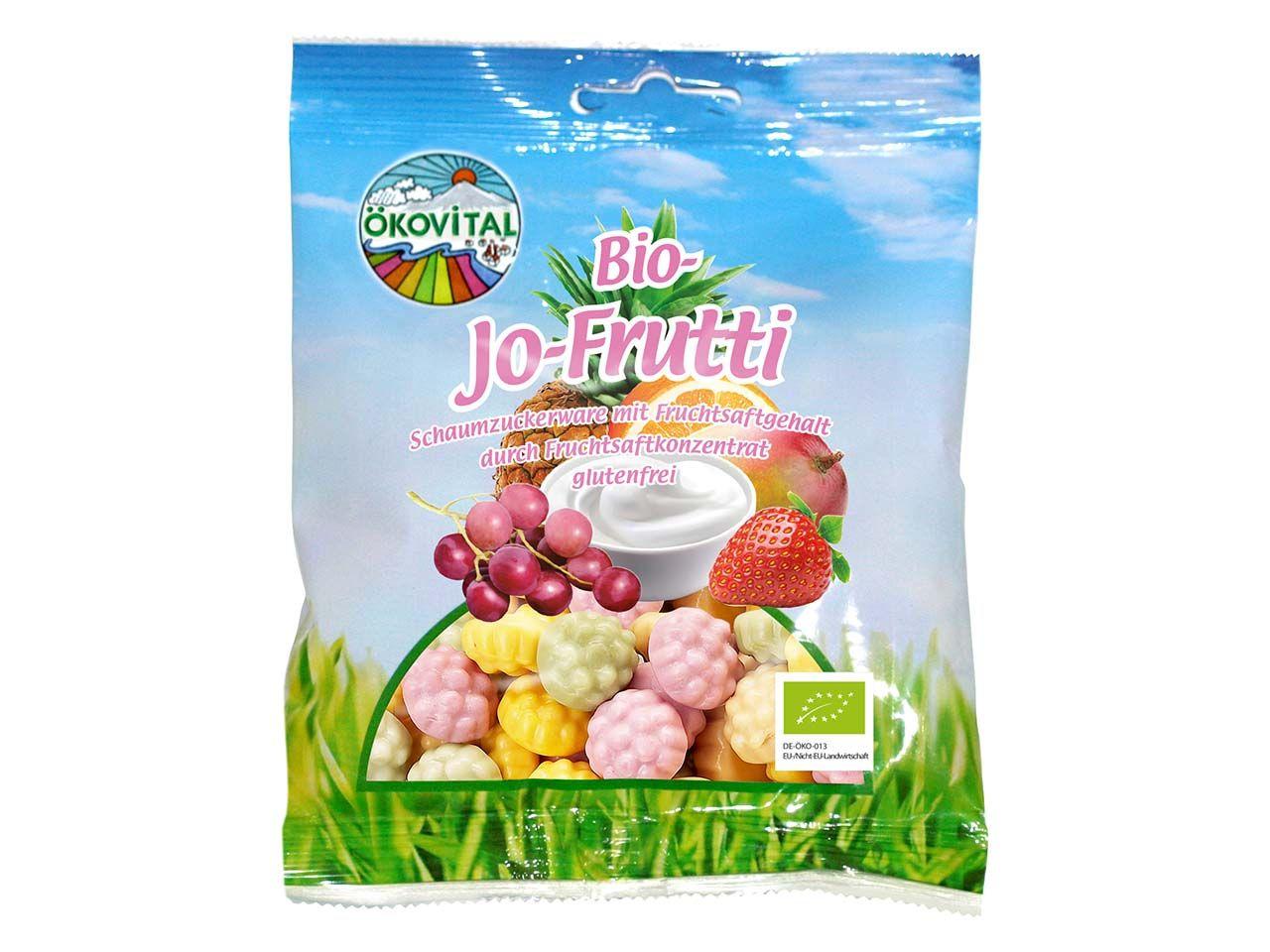 """Bio-Fruchtgummi """"Jo-Frutti"""" 80 g A14000960"""