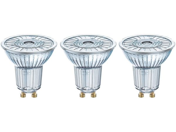 "3-er Pack OSRAM LED-Lampe ""Star"" Strahler PAR16, 2,6 W, GU10, 230 lm"