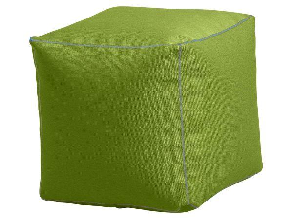 """Sitzsack """"Cube"""" grün, für Innenbereich"""