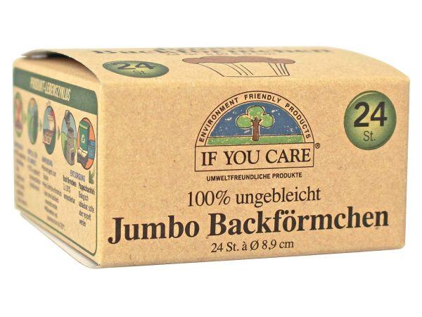 IF YOU CARE Backförmchen jumbo, 24 Stk.