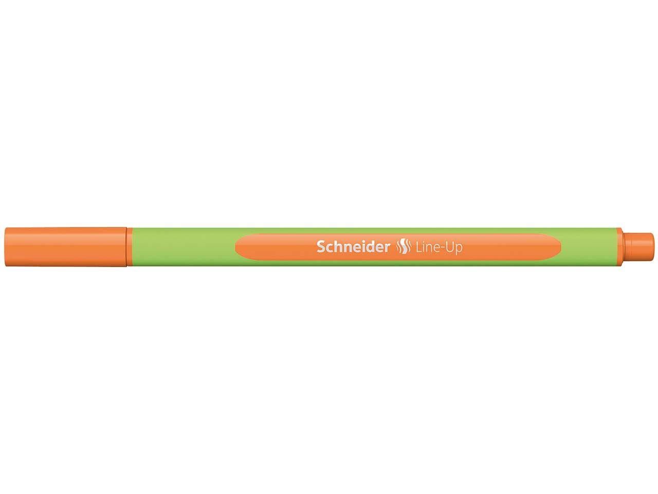 """Schneider Fineliner """"Line Up"""" tango-orange 50-191006"""