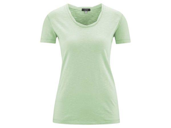 """Living Crafts Bio-Damen-T-Shirt """"Alexandra"""" mint, Gr. L"""
