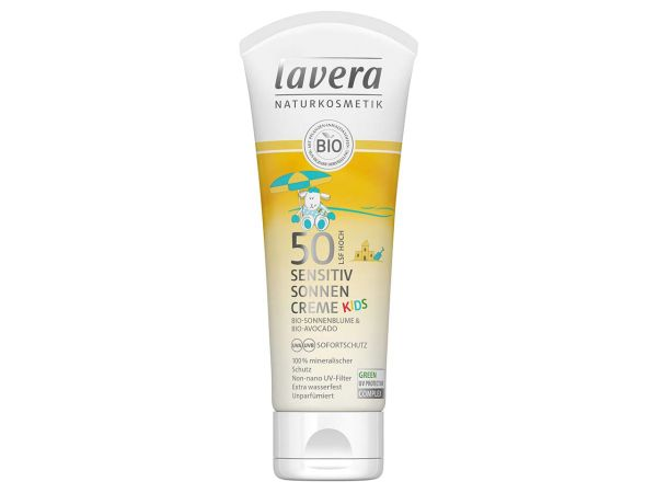 "lavera ""Sensitiv"" Sonnencreme  Kids LSF 50, 75 ml"