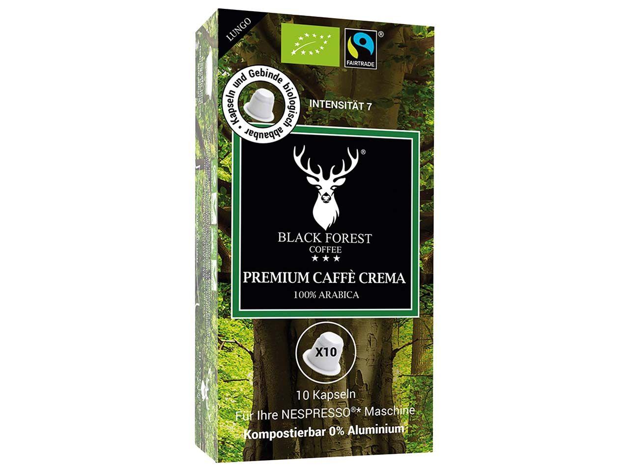 10 BLACK FOREST COFFEE Bio-Kaffee