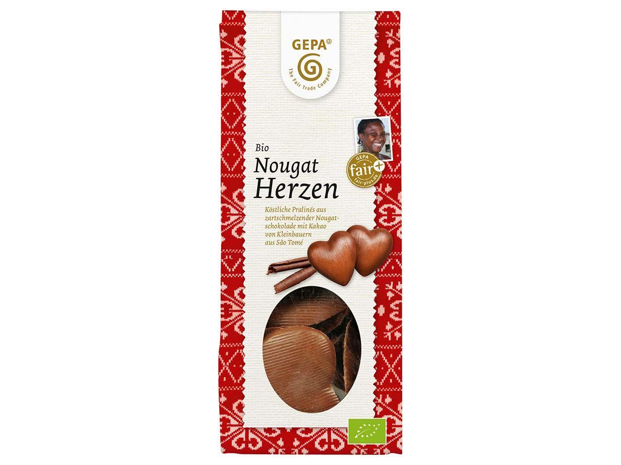 GEPA Bio-Nougatherzen 90 g 8951868