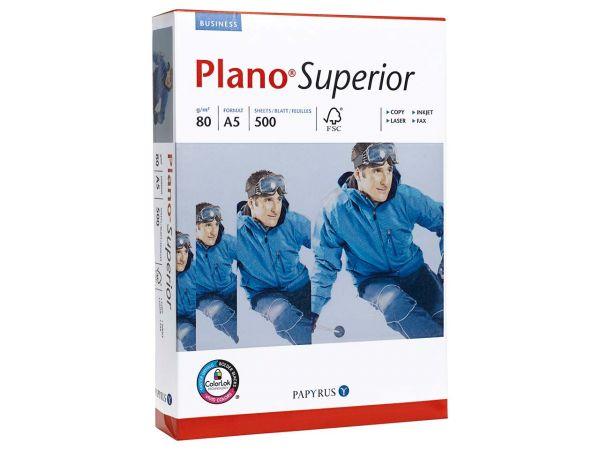 "500 Blatt Papyrus Multifunktionales Kopierpapier ""Plano Superior"" DIN A5, 80 g/m²"