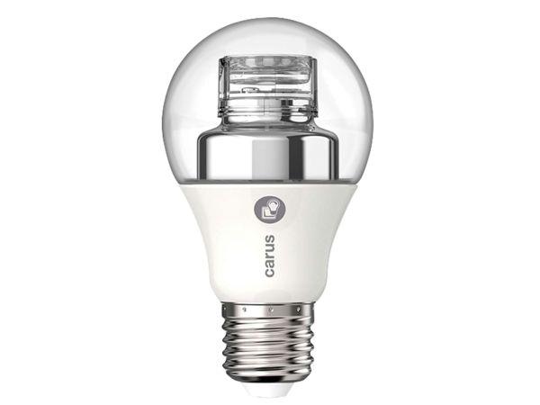 "carus LED-Lampe ""Dim by click"" 8 W, E27, 600 lm, dimmbar"