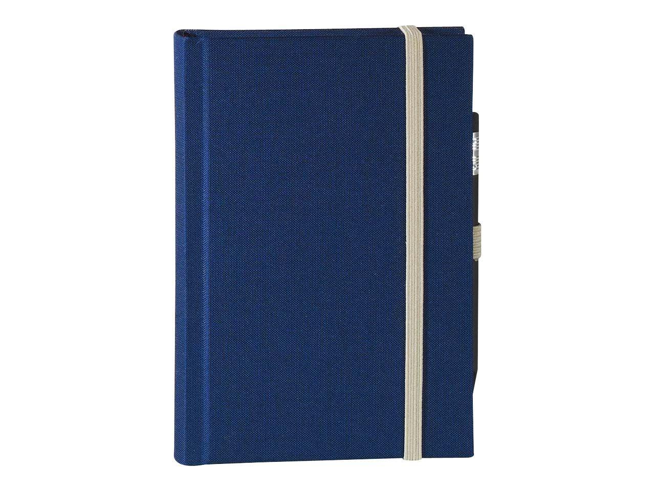 memo Skizzenbuch Leinen A6, (B 92 X H 134 mm) blau, 160 Seiten, Zeichenband,1 0164gar