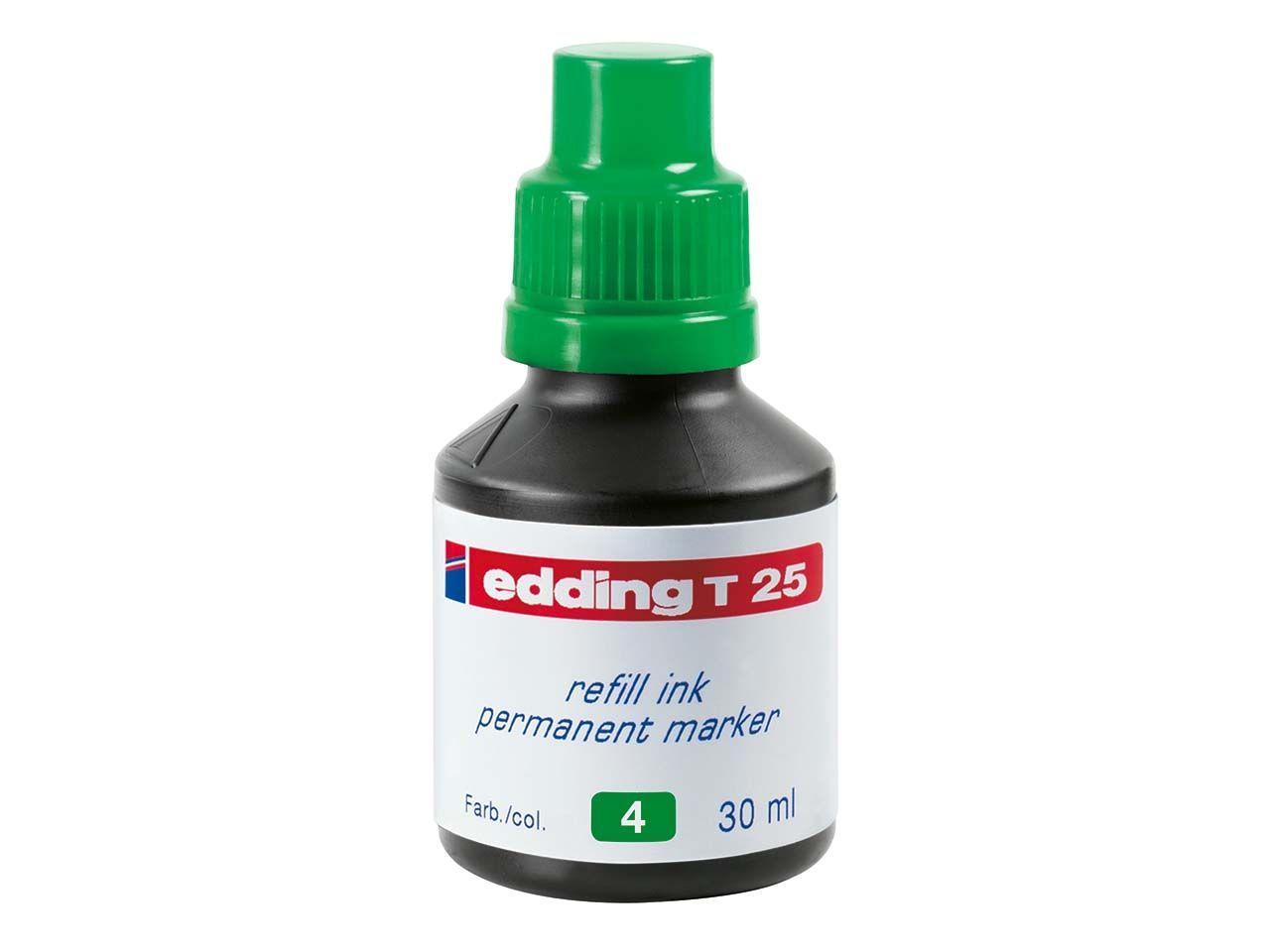 edding Nachfülltinte T25 grün 4-T25004