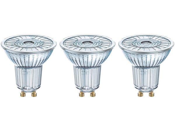 "3er-Pack OSRAM LED-Lampe ""Star"" Strahler PAR16, 4,3 W, GU10, 350 lm"