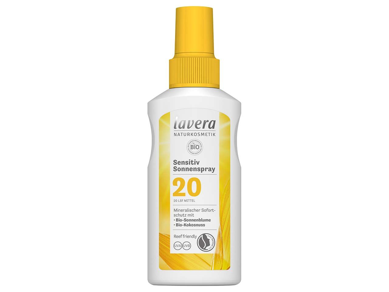 "lavera Sonnenspray ""Sensitiv"" LSF 20, 100 ml 110605"