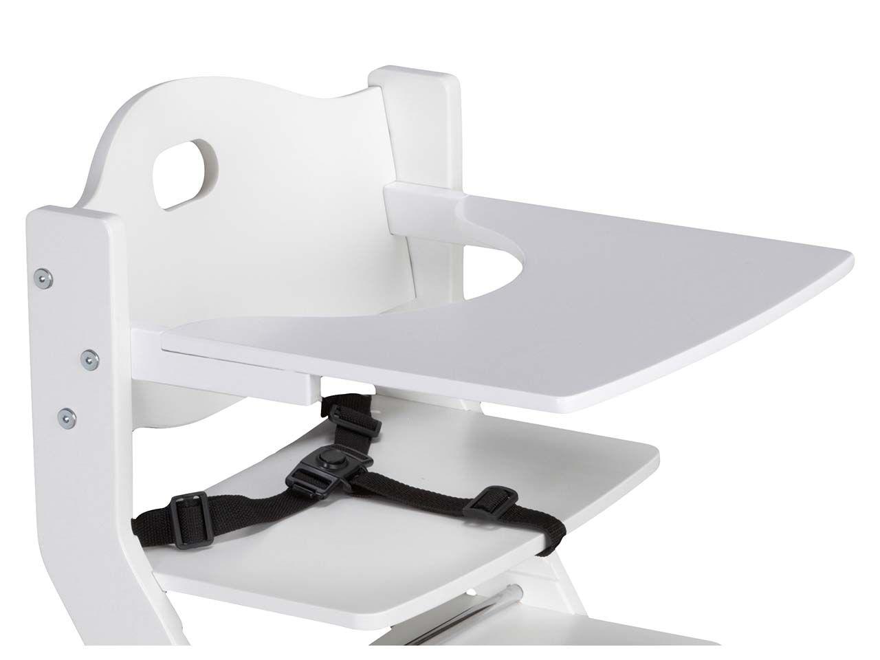 Tisch für tiSsi Hochstuhl, weiß Tisch weiß