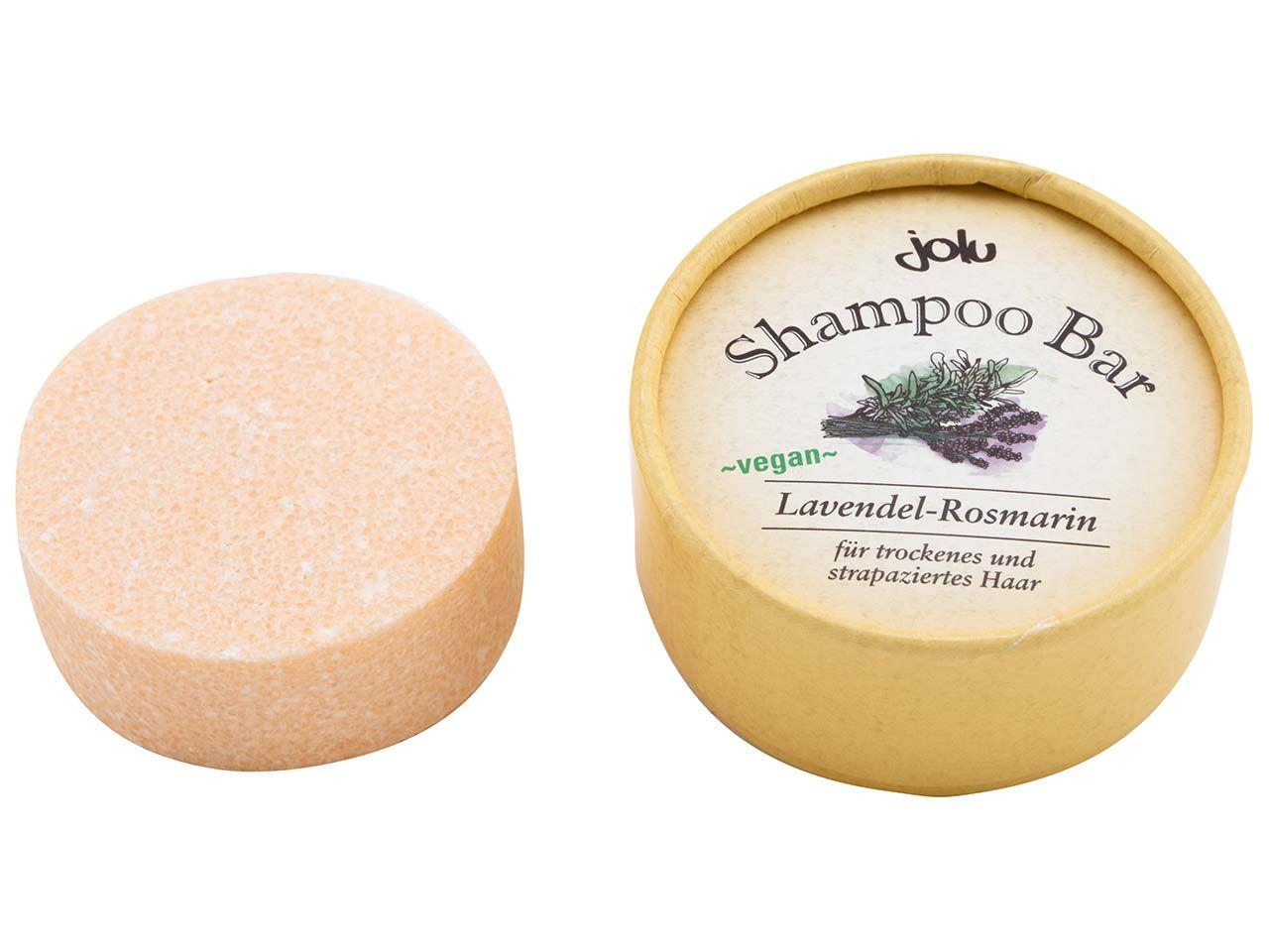 "Jolu Festes Shampoo ""Shampoo Bar Lavendel-Rosmarin"" in Pappdose, 50 g 310"