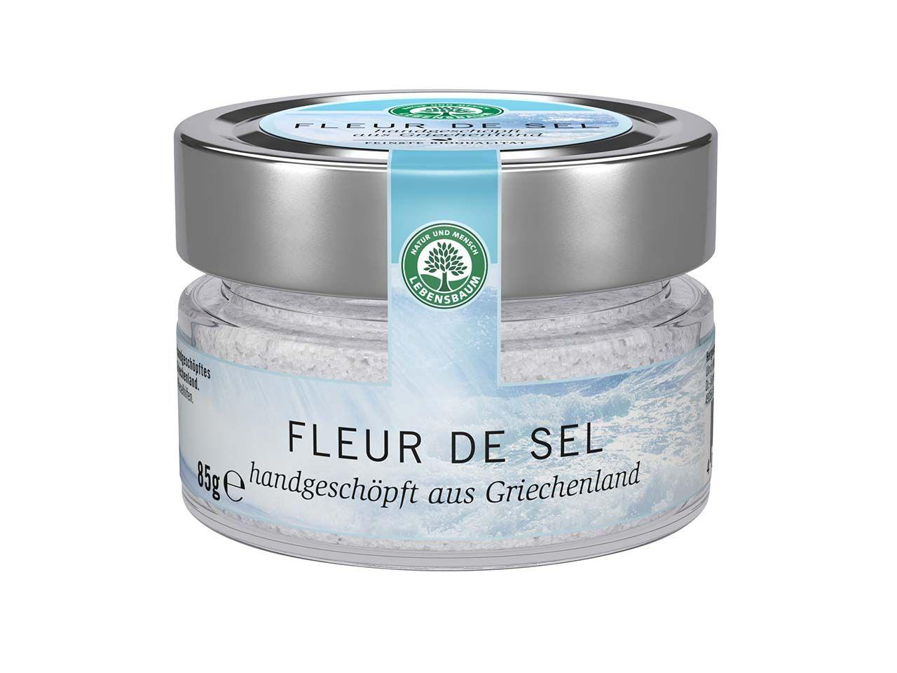 "Lebensbaum Meersalz ""Fleur de Sel"" 85 g 1308"
