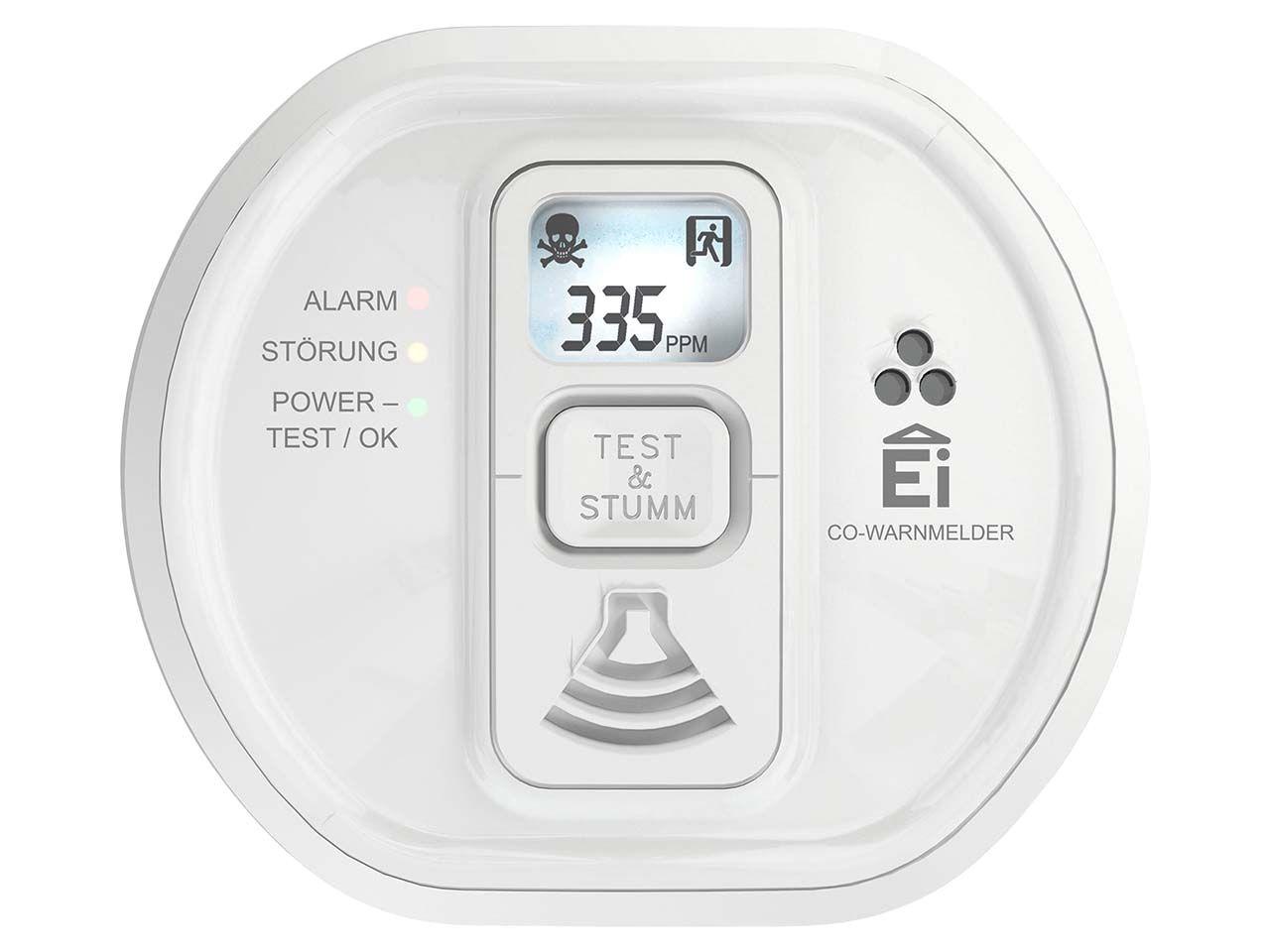 Ei Electronics Funkvernetzbarer 10-Jahres-Kohlenmonoxidmelder