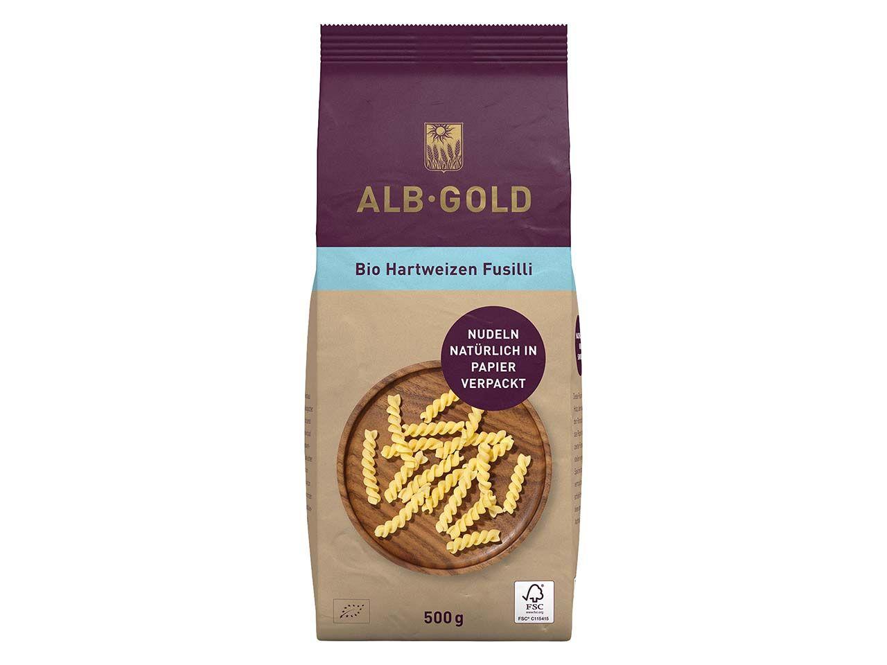 ALB-GOLD Bio-Hartweizen Fusili, 500 g 104034312