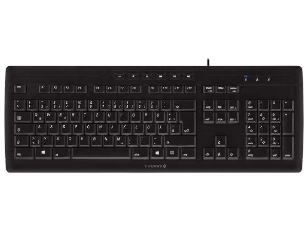 """Cherry Tastatur """"Stream 3.0"""" schwarz"""