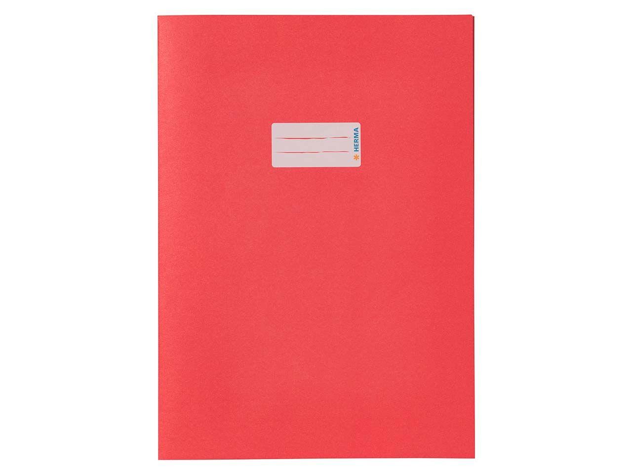 HERMA Heftumschlag RC-Papier A4 rot 5532