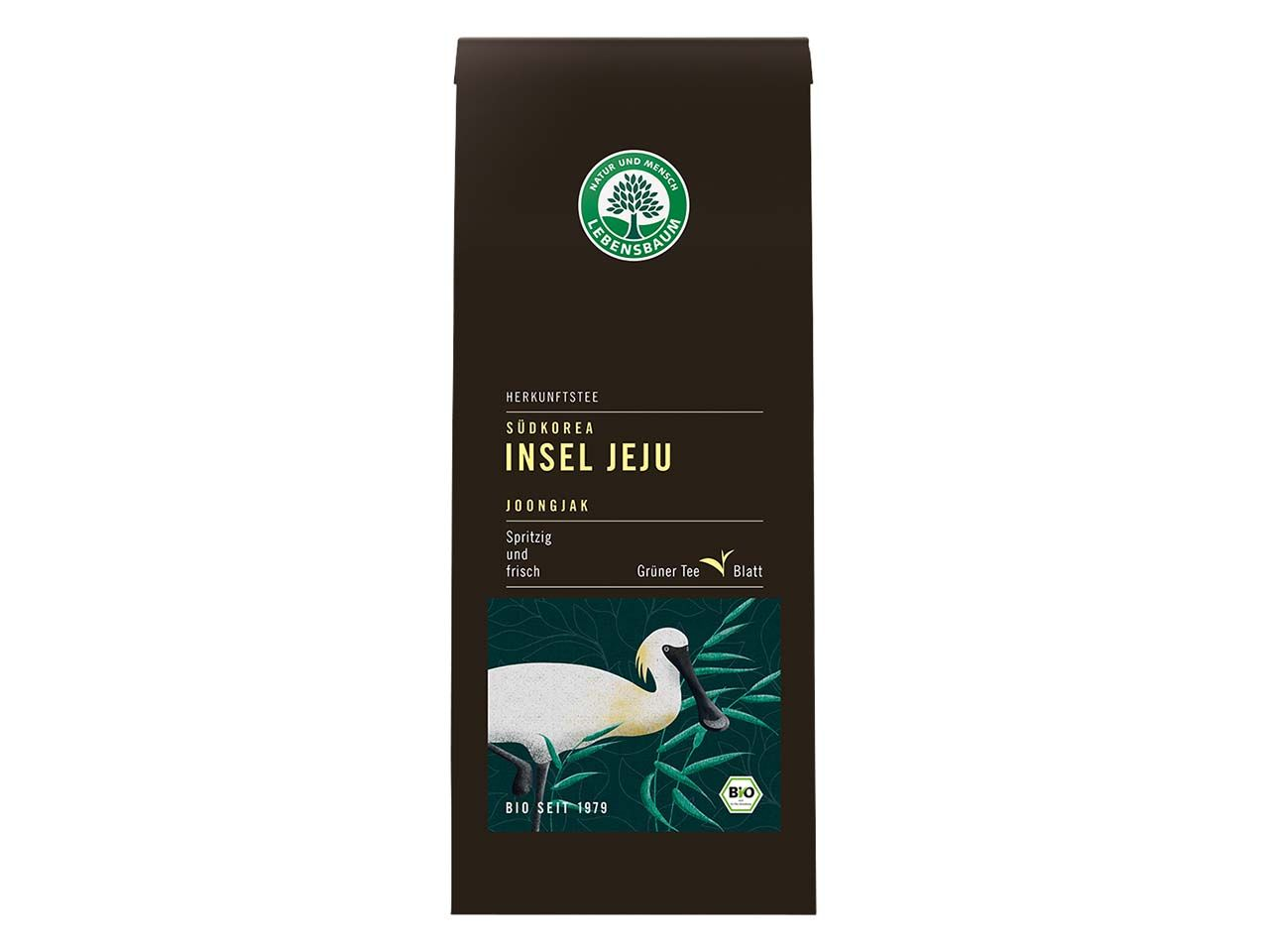 "Lebensbaum Grüner Bio-Tee ""Insel Jeju"", 90 g 5433"