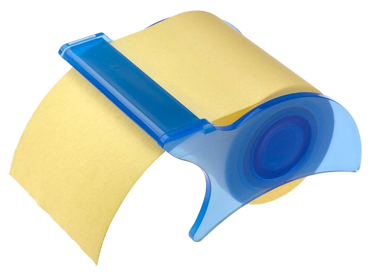 memo Haftnotizen-Abroller blau memo abroller