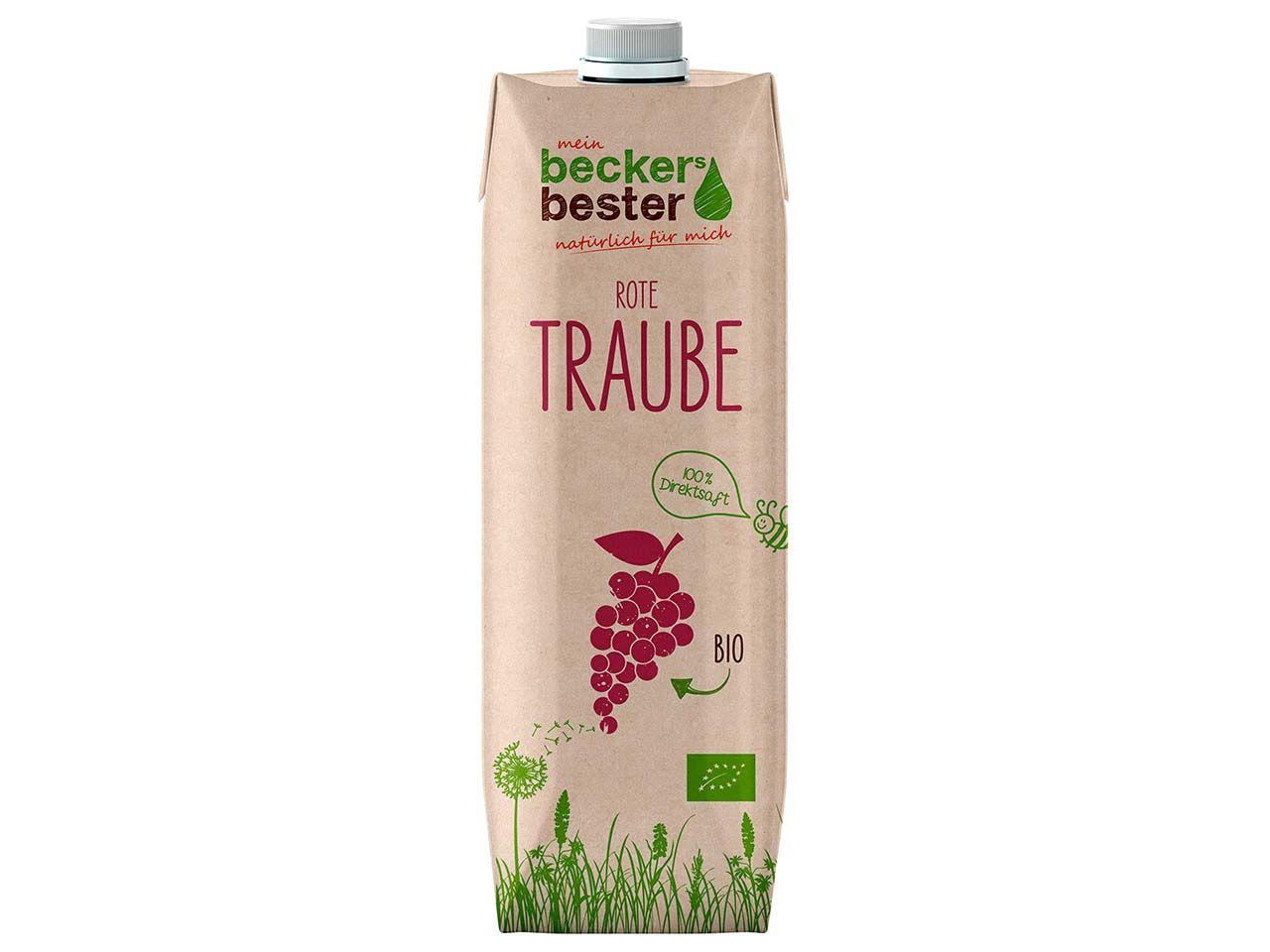 beckers bester Bio-Traubendirektsaft 1 l 76181
