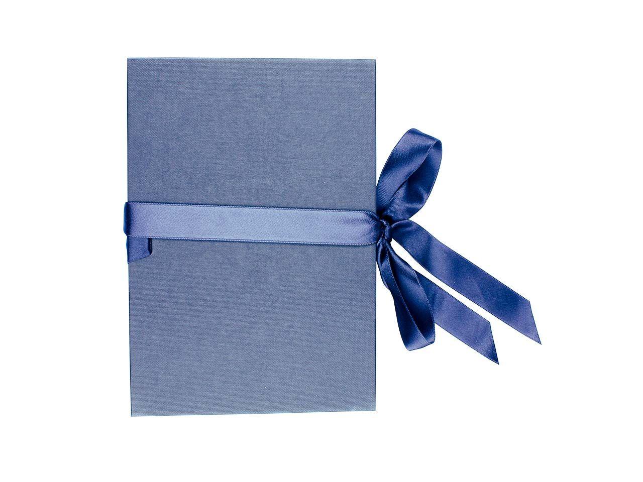 Foto-Leporello blau, 17,5x12cm 0635ef blau