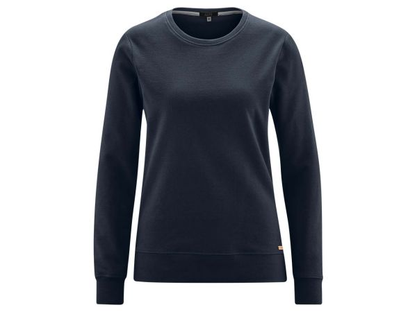 "Living Crafts Bio-Damen-Sweatshirt ""Gwyneth"" ink blue, Gr. XS"