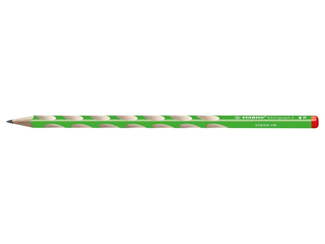 STABILO Bleistift 'EASYgraph S' grün 326/04-HB