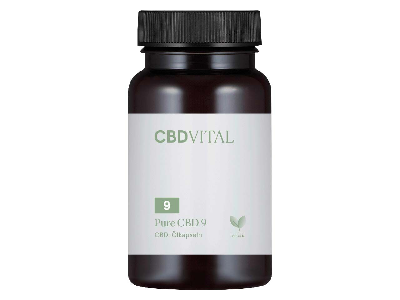 "CBD Vital Hanfextrakt in Kapselform ""Pure CBD Kapseln 9"" (5 %), 60 Kapseln 2210"