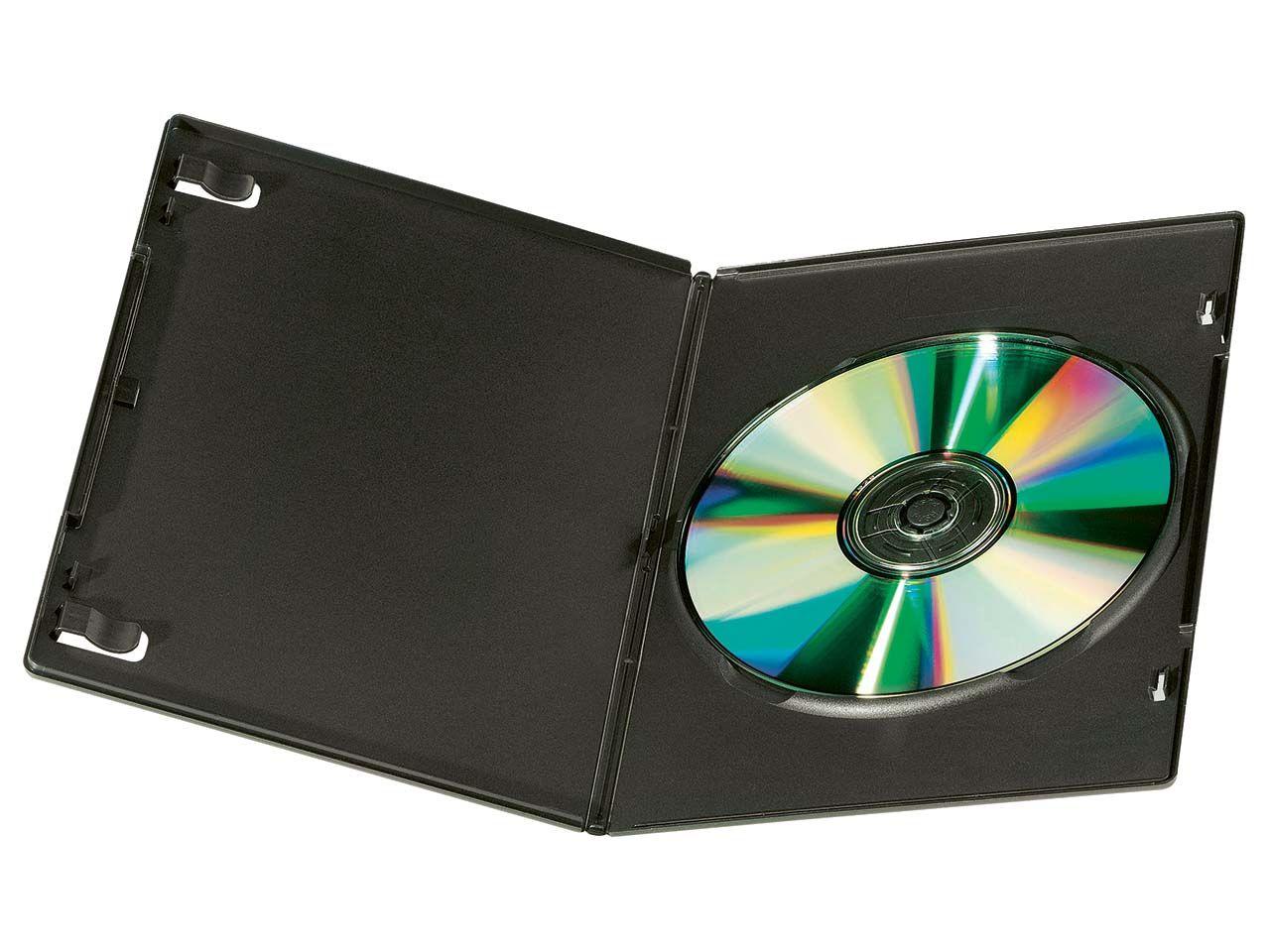 10 DVD-Leerhüllen für 1 DVD Slim - 7mm