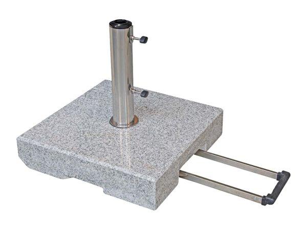 """doppler Sonnenschirmständer """"Active Granit-Trolley"""" 40 kg"""