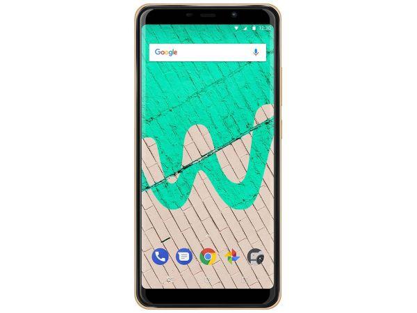 "Wiko Smartphone ""View Max"" Dual-Sim gold"