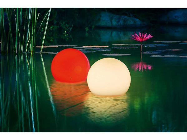 """esotec Solar-LED-Leuchtkugelset """"Multicolor"""" 20 cm"""