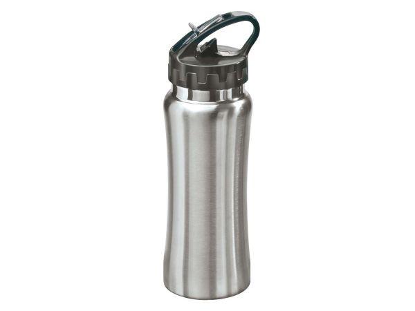 "Trinkflasche ""Balance"",  0,5 l, Edelstahl silber"