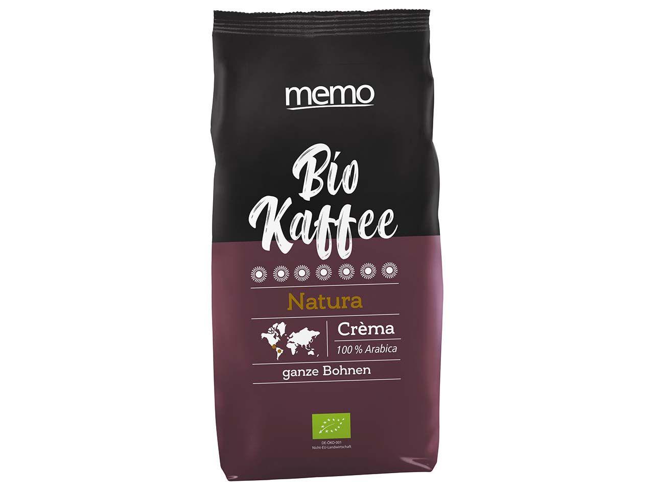 memo Bio-Kaffee Crema