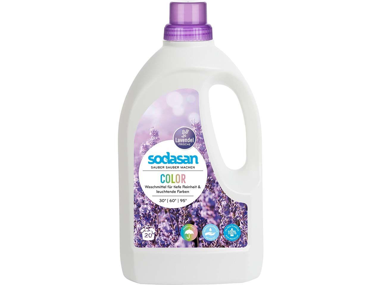 Sodasan Color Flüssigwaschmittel Lavendel 1,5 l 1509
