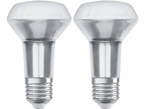 "2er-Pack OSRAM LED-Lampe ""Star"" R63, 3,3 W, E27"