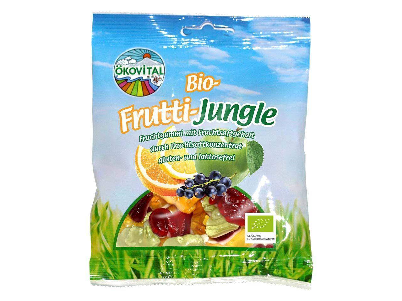 "Bio-Fruchtgummi ""Frutti Jungle"" 100 g A21401200"