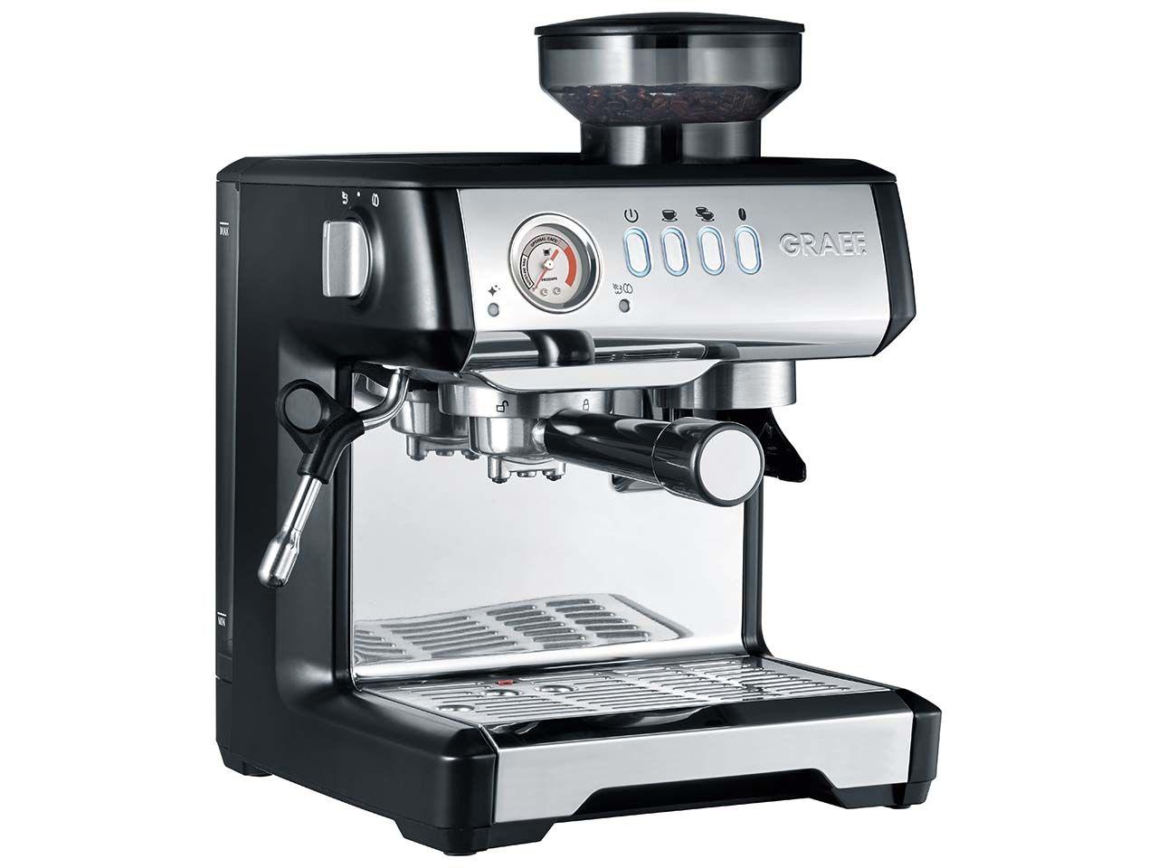 """Graef Espressomaschine """"Milegra ESM 802"""" mit Siebträger und Mahlwerk ESM802EU"""
