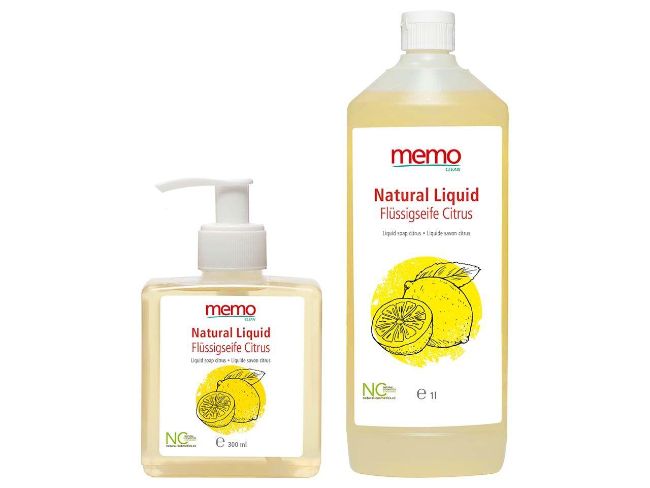 memo Flüssige Pflanzenölseife