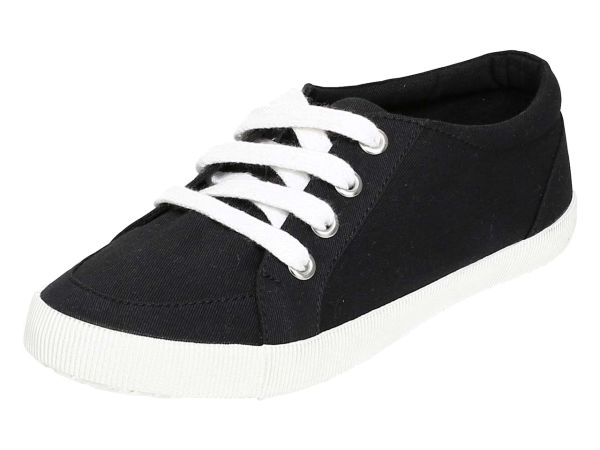 """Organic Sneaker """"Raya"""" Gr. 39, schwarz"""