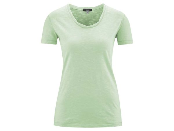 "Living Crafts Bio-Damen-T-Shirt ""Alexandra"" mint, Gr. XS"