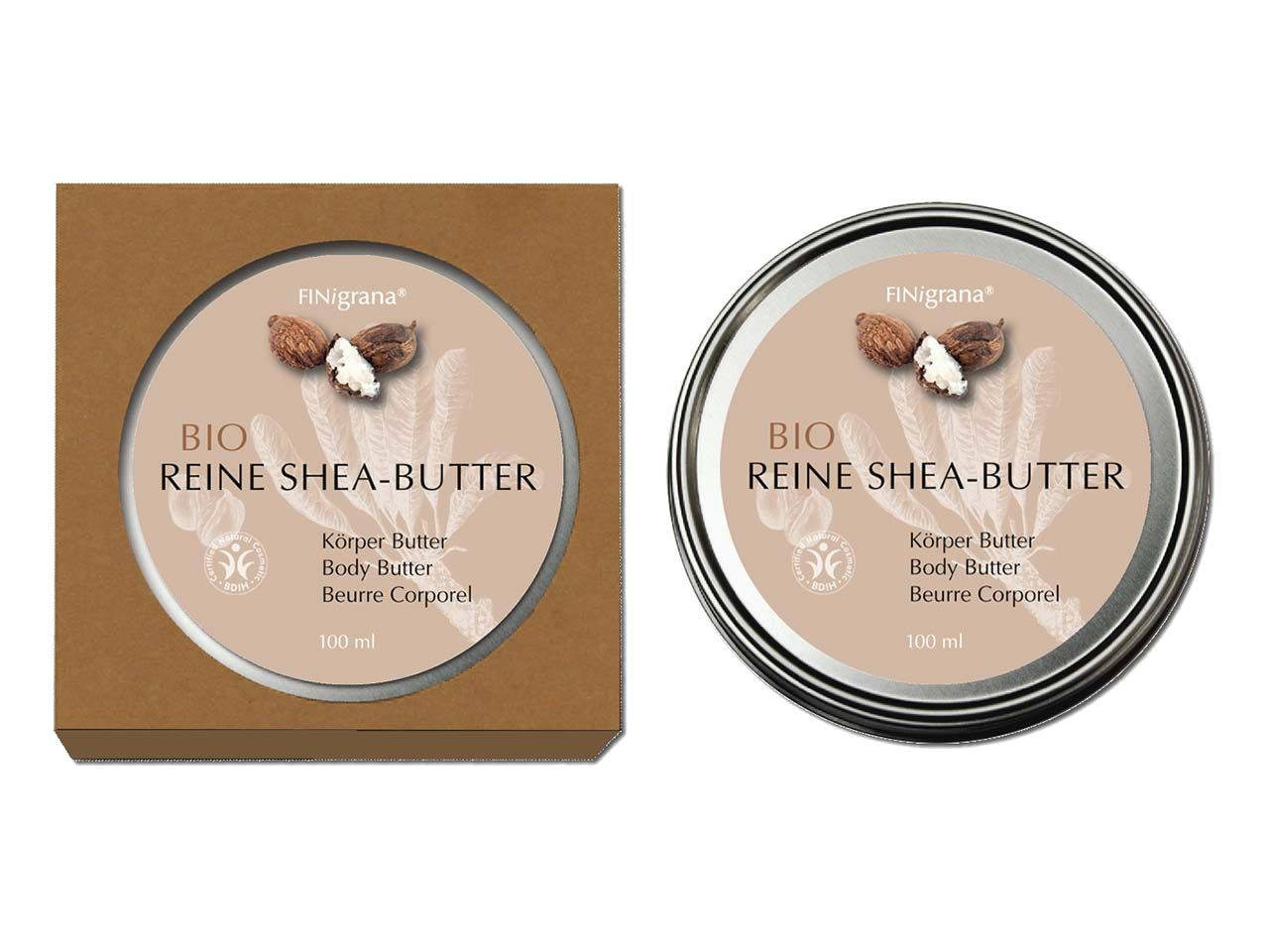 "FINigrana Bio-Sheabutter ""Reine Shea-Butter"" 100 ml SH100"